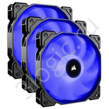 Вентилятор AF120 LED 3 pack [CO-9050084-WW]  , RTL {10}
