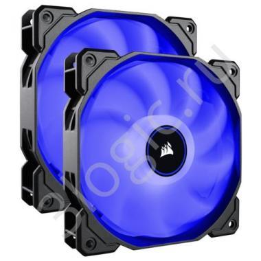 Вентилятор AF140 LED 2 pack   [CO-9050090-WW]  , RTL {10}