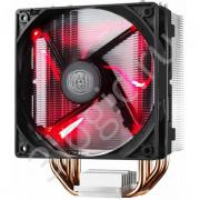 Вентилятор Bad Pack Hyper 212 LED [RR-212L-16PR-R1 bp] AL Fin,4 HP,16025mm Fan,Red LED (379)