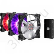 Вентилятор Bad Pack MasterFan Pro 120 Air Flow RGB 3 in 1 with RGB LED Controller [MFY-F2DC-113PC-R1 bp] MFY-F2DC-113PC-R1  , RTL (476)