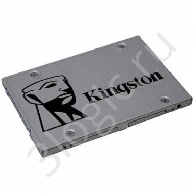 "Жесткий диск 2.5"" 120GB Kingston A400 Client SSD SA400S37/120G SATA 6Gb/s, 500/320, MTBF 1M, TLC, 40TBW, RTL {10} (261196)"