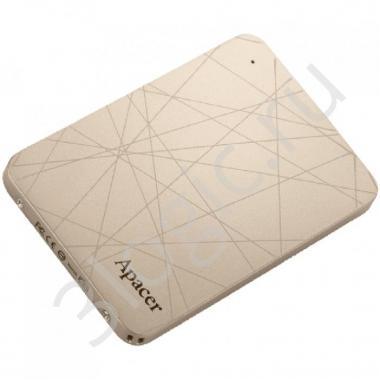 "Жесткий диск 1.8"" 240GB Apacer ASMini External SSD AP240GASMINI-1 USB 3.1 Gen 1 Type-C, 450/400, MTBF 1M, MLC, Retail (913739)"
