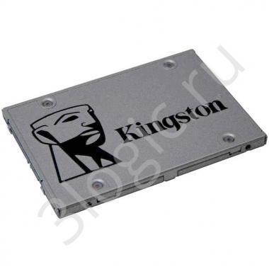 "Жесткий диск 2.5"" 120GB Kingston UV500 Client SSD SUV500/120G SATA 6Gb/s, 520/320, IOPS 79/18K, MTBF 1M, 3D TLC NAND, 60TBW, RTL {10} (273823)"