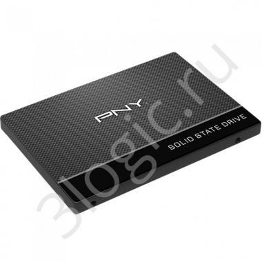"""Жесткий диск 2.5"""" 120GB PNY CS900 Client SSD SSD7CS900-120-PB SATA 6Gb/s, 515/490, MTBF 2M, 3D TLC, RTL"""