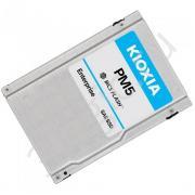 """Жесткий диск 2.5"""" 1600GB KIOXIA PM5-V Enterprise SSD KPM51VUG1T60 SAS 12Gb/s, 2100/2100, IOPS 340/120K, MTBF 2.5M, TLC, 3DWPD, Bulk"""
