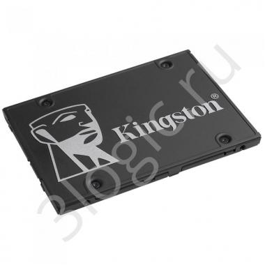 "Жесткий диск 2.5"" 1024GB Kingston KC600 Client SSD SKC600/1024G SATA 6Gb/s, 550/520, IOPS 90/80K, MTBF 1M, 3D TLC, 600TBW, RTL (300116)"