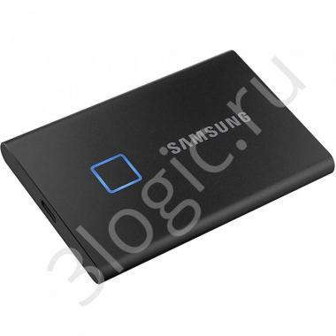 "Жесткий диск 1.8"" 1TB Samsung T7 Black External SSD MU-PC1T0K/WW USB 3.2 Gen 2 Type-C, 1050/1000 RTL (195297)"