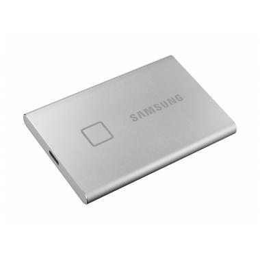 "Жесткий диск 1.8"" 1TB Samsung T7 Silver External SSD MU-PC1T0S/WW USB 3.2 Gen 2 Type-C, 1050/1000 RTL {5} (195266)"
