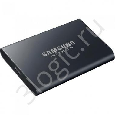 "Жесткий диск 1.8"" 2TB Samsung T7 Grey External SSD MU-PC2T0T/WW USB 3.2 Gen 2 Type-C, 1050/1000, RTL (312380)"