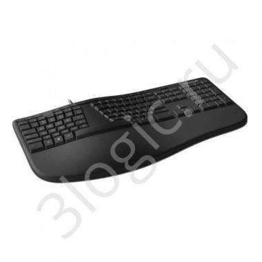 Клавиатура проводная Microsoft Ergonomic LXM-00011 USB  Black, 111КЛ +15КЛ М/Мед RTL {5}