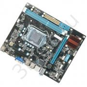 Материнская плата H61FEL-U Socket 1155, Intel®H61, 2xDDR3-1333, D-SUB+HDMI, 1xPCI-Ex16, 1xPCI-Ex1, 4xSATA2, 8 Ch Audio, Lan, (6+4)USB2.0, mATX, RTL {20}