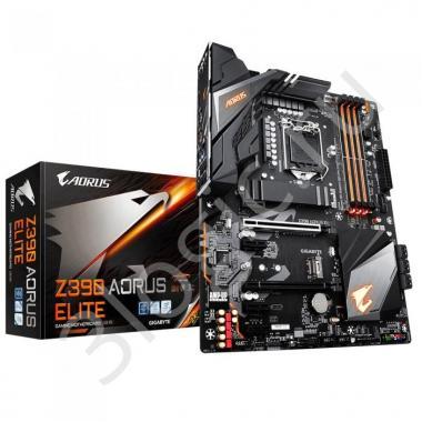 Материнская плата Z390 AORUS ELITE, Socket 1151, Intel®Z390, 4xDDR4-2666, HDMI, 2xPCI-Ex16, 4xPCI-Ex1, 6xSATA3(RAID 0/1/5/10), 2xM.2, 8Ch Audio, 1xGLan, (4+4)xUSB2.0, (6+2)xUSB3.1, (0+1)xUSB3.1 Type-C™, ATX, RTL, {8}