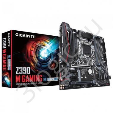 Материнская плата Z390 M GAMING, Socket 1151, Intel®Z390, 4xDDR4-2666, DVI-D+HDMI, 2xPCI-Ex16, 2xPCI-Ex1, 6xSATA3(RAID 0/1/5/10), 2xM.2, 8Ch Audio, 1xGLan, (0+4)xUSB2.0, (5+2)xUSB3.1, 1xUSB3.1 Type-C™, 1xPS/2, mATX, RTL, {10}