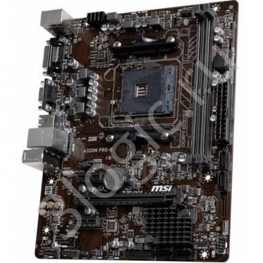 Материнская плата A320M PRO-E, Socket AM4, AMD® A320, 2xDDR4-1866, 1xPCI-Ex16x, 2xPCI-Ex, D-SUB+DVI-D, 4xSATA3(RAID 0/1/10), 8 Ch Audio, GLan, (2+4)xUSB2.0, (4+2)xUSB3.1, 1xPS/2, mATX, OEM