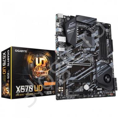 Материнская плата X570 UD, Socket AM4, AMD X570, 4xDDR4-3200, HDMI, 3xPCI-Ex16, 2xPCI-Ex1, 6xSATA3(RAID 0/1/10), 1xM.2, 6 Ch Audio, GLan, (2+4)xUSB2.0, (4+4)xUSB3.2, 2xPS/2,  ATX, RTL {8}