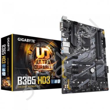 Материнская плата B365 HD3, Socket 1151, Intel®B365, 4xDDR4-2666, D-SUB+DVI-D+HDMI, 2xPCI-Ex16, 4xPCI-Ex1, 6xSATA3(RAID 0/1/5/10), 2xM.2, 8 Ch Audio, GLan, (2+4)xUSB2.0, (4+2)xUSB3.1, 1xPS/2, ATX, RTL {10}