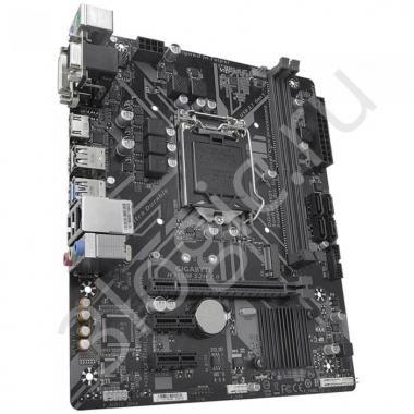 Материнская плата H310M S2H 2.0, Socket 1151, Intel®H310, 2xDDR4-2666, D-SUB+DVI-D+HDMI, 1xPCI-Ex16, 2xPCI-Ex1, 4xSATA3, 1xM.2, 8 Ch Audio, GLan, (4+2)xUSB2.0, (2+2)xUSB3.1, 2xPS/2, mATX, OEM
