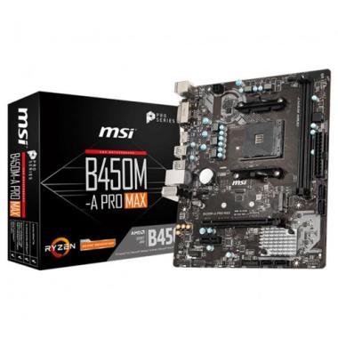 Материнская плата A320M-A PRO MAX, Socket AM4, AMD® A320, 2xDDR4-2667, 1xPCI-Ex16x, 1xPCI-Ex, DVI-D+HDMI, 4xSATA3(RAID 0/1/10), 1xM.2, 8 Ch Audio, GLan, (2+4)xUSB2.0, (4+2)xUSB3.2, 2xPS/2, mATX, RTL {20}