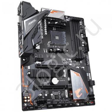 Материнская плата B450 AORUS ELITE, Socket AM4, AMD B450, 4xDDR4-2933, DVI-D+HDMI, 2xPCI-Ex16, 2xPCI-Ex1, 6xSATA3(RAID 0/1/10), 2xM.2, 8 Ch Audio, GLan, (4+4)xUSB2.0, (4+1)xUSB3.1, 1xPS/2, ATX, OEM