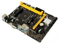 Материнская плата A320MH, Socket AM4, AMD A320, 2xDDR4-2667, D-SUB+HDMI, 1xPCI-Ex16, 2xPCI-Ex1, 4xSATA3(RAID 0/1/10), 8 Ch Audio, GLan, (4+2)xUSB2.0, (2+1)xUSB3.1, 1xPS/2, mATX, OEM, {20}