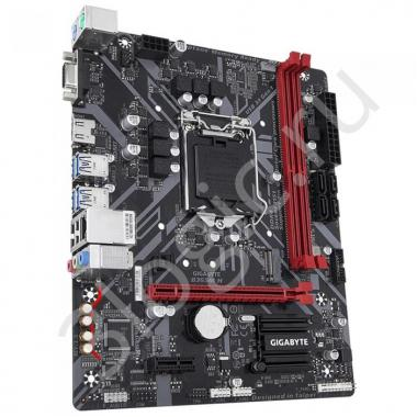 Материнская плата B365M H, Socket 1151, Intel®B365, 2xDDR4-2666, D-SUB+HDMI, 1xPCI-Ex16, 1xPCI-Ex1, 4xSATA3, 1xM.2, 8 Ch Audio, GLan, (2+4)xUSB2.0, (4+2)xUSB3.1, 2xPS/2, mATX, OEM, {10}