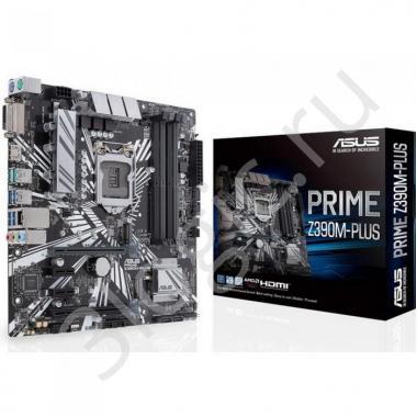 Материнская плата Bad Pack PRIME Z390M-PLUS LGA1151,Z390,USB3.1 GEN2,MB ,RTL {10}