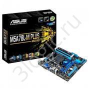 Материнская плата M5A78L-M PLUS/USB3 /AM3+,760G,4D3,USB3,MB, RTL {10}