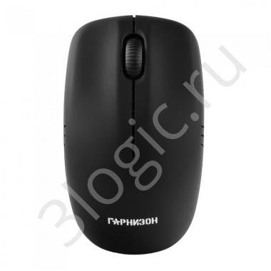 Мышь беспров. Гарнизон GMW-400, чип X, черный, 1200 DPI, 2 кн.+ колесо-кнопка