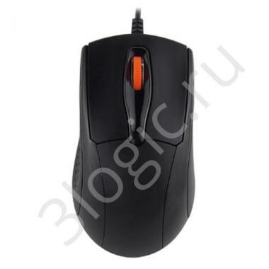 Мышь M-2291 USB standard mouse, black color, 1000DPI, brown box, cable: 1.5 m, LOGO: LIME(logo color: white) {100}